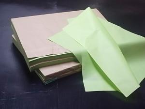 ウグイスロール紙