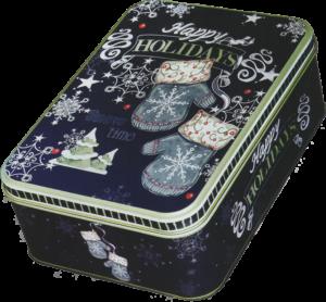 ブラックボードBOX メタル缶