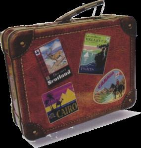 シルバークレーン スーツケース