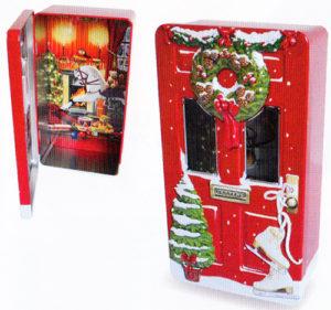 シルバークレーンクリスマスドアレッド