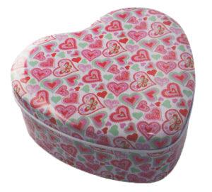 Heart Pink BOX缶