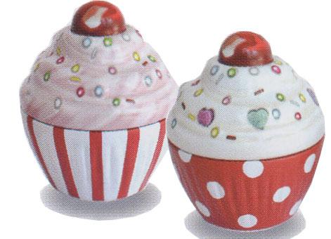 シルバークレーンカップケーキ P&チェリー化粧缶