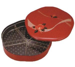 梅型オードブル 紅椿 赤