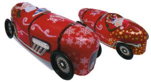 シルバークレーン サンタレーシングカー化粧缶