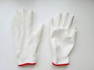 タッチワークホワイト手袋
